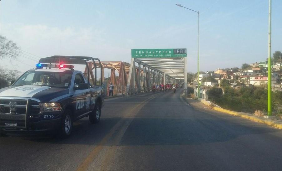 Este domingo, se dio el banderazo de salida desde la Alameda de León, en la ciudad de Oaxaca