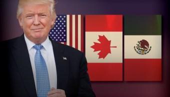Casa Blanca analiza el retiro de Estados Unidos del TLCAN (AP)