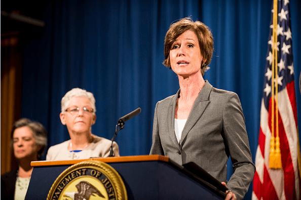 Fiscal general en funciones de Estados Unidos, Sally Yates.