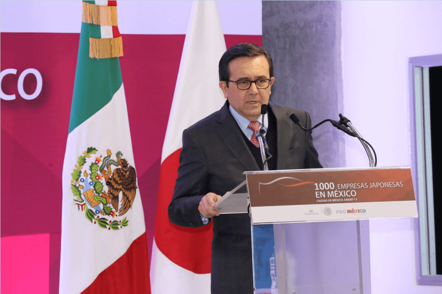 Ildefonso Guajardo Villarreal, secretario de Economía (Notimex)