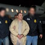 Joaquín 'El Chapo' Guzmán a su llegada a Estados Unidos