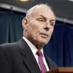 John Kelly, secretario de Seguridad Nacional de Estados Unidos, en rueda de prensa. (AP)