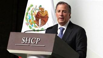 José Antonio Meade Kuribreña. secretario de Hacienda y Crédito Público (Notimex)