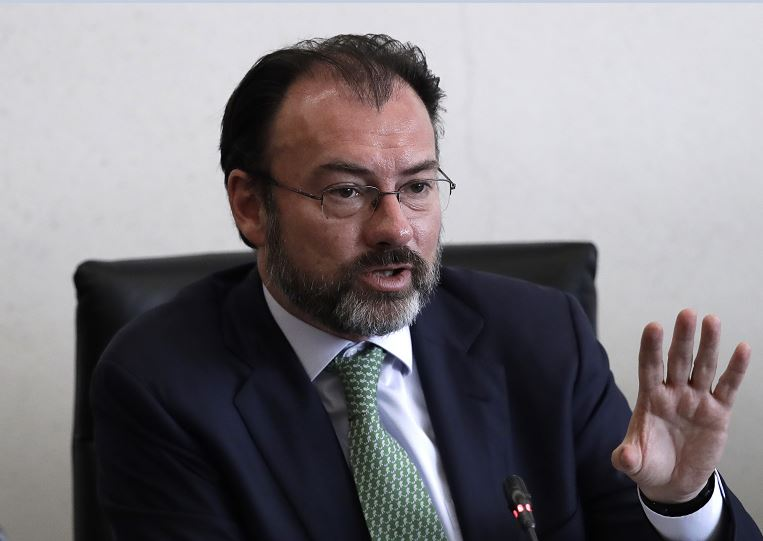 Luis Videgaray, secretario de Relaciones Exteriores . (AP)