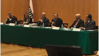 El secretario de Hacienda participa en el sminario ITAM