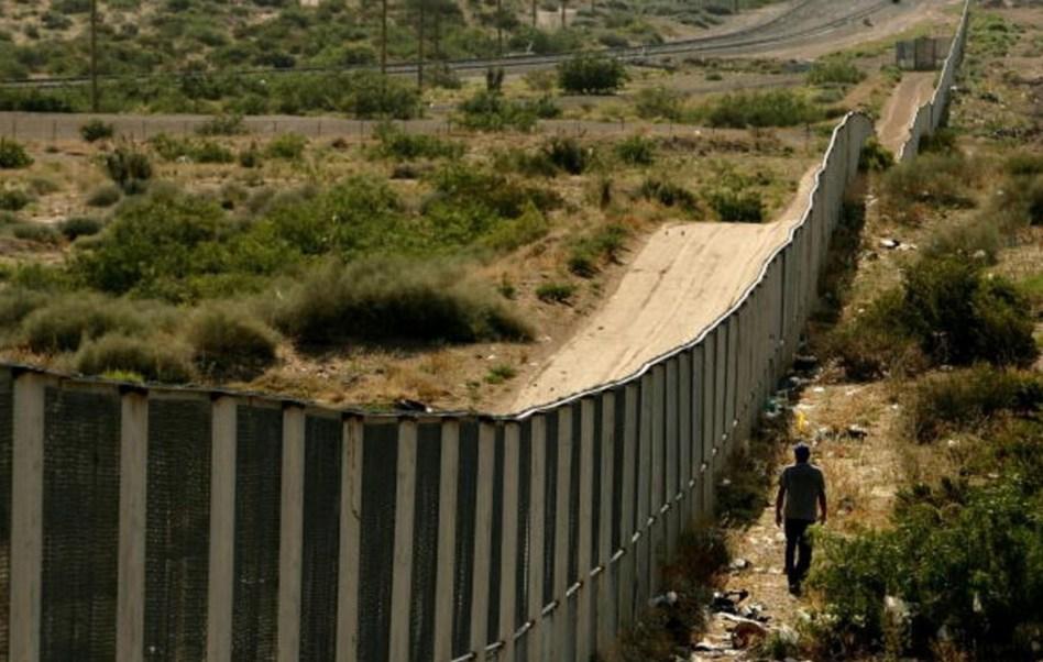 Muro fronterizo entre Estados Unidos y México (Getty Images, Archivo)