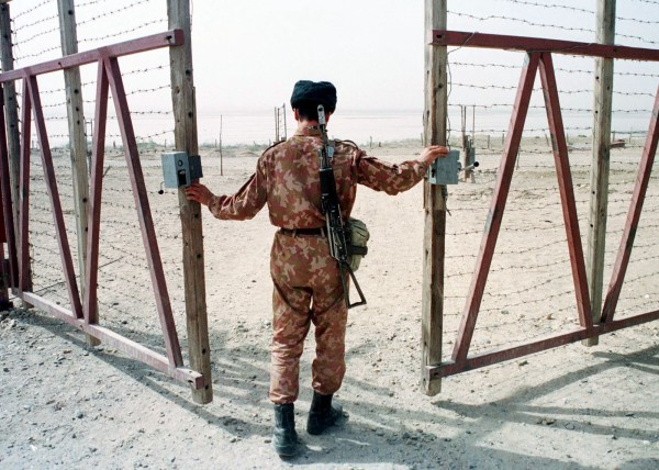 Frontera entre Uzbekistán y Afganistán