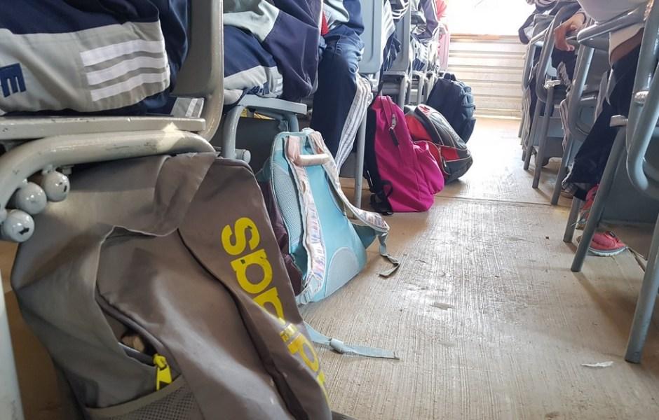 Operativo Mochila en escuelas públicas