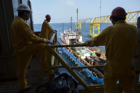 Plataforma de Pemex (Getty Images)