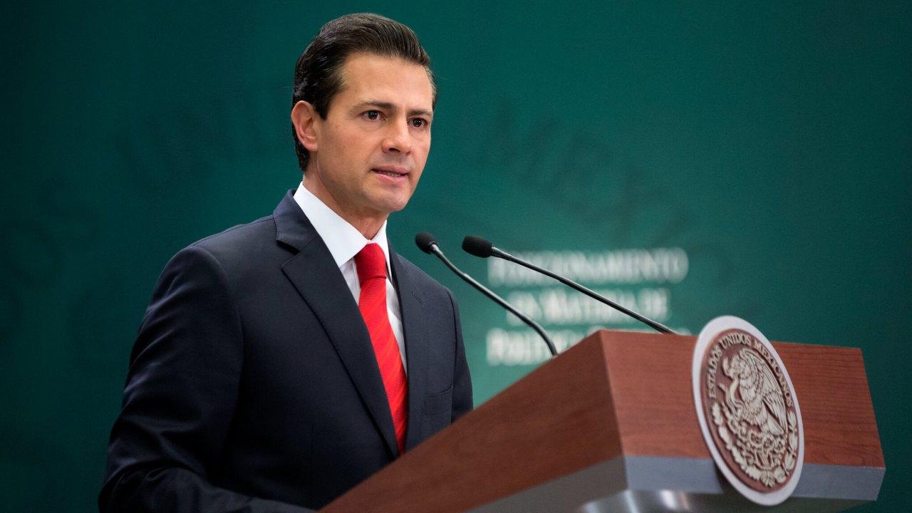 El presidente de México, Enrique Peña Nieto (Presidencia de México)