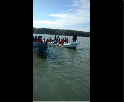 Profepa rescata ballena varada en Alvarado, Veracruz