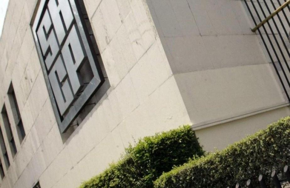 Fachada de la Secretaría de Hacienda y Crédito Público