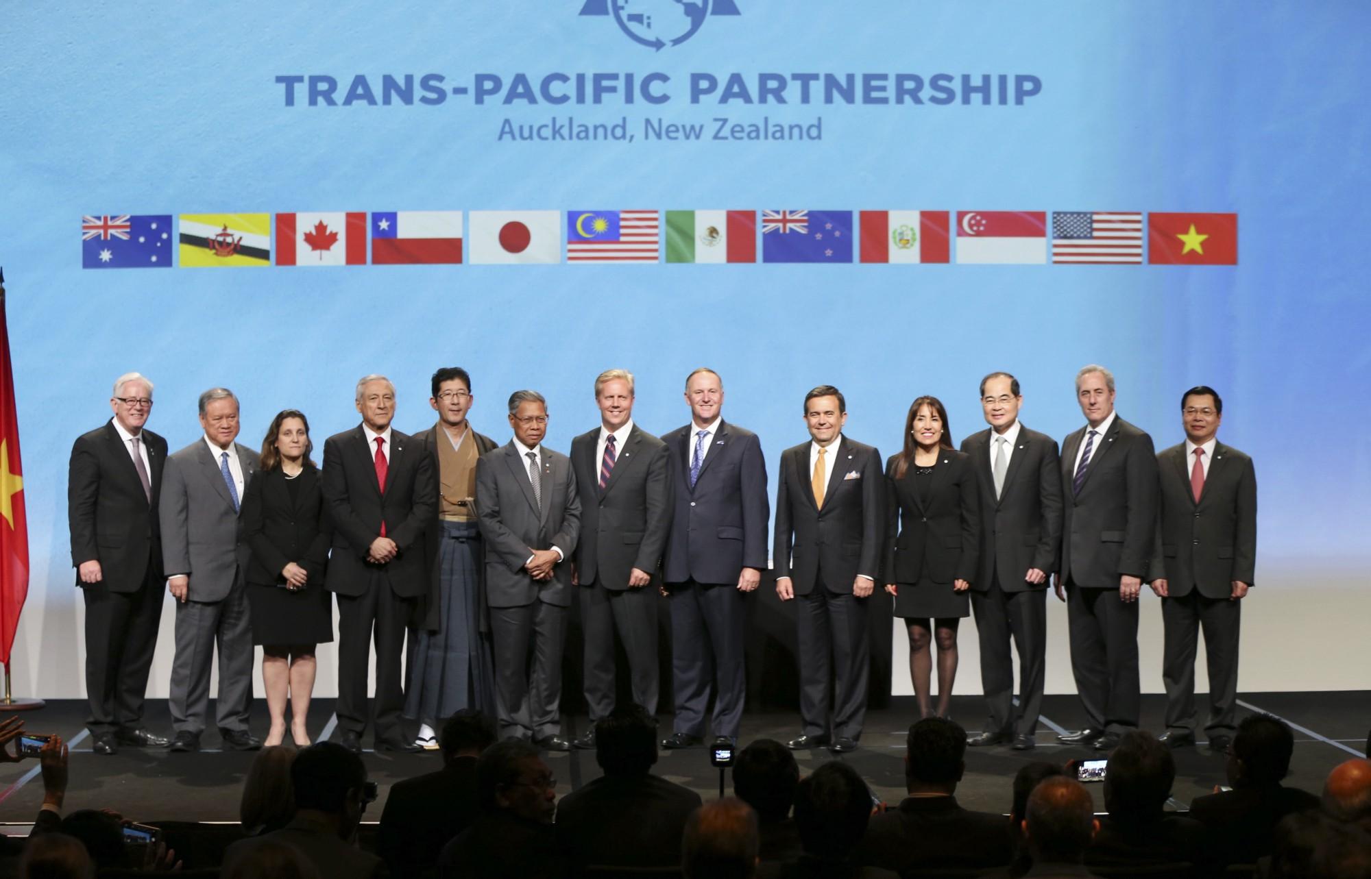 Pasíes integrantes del TPP alistan cambios