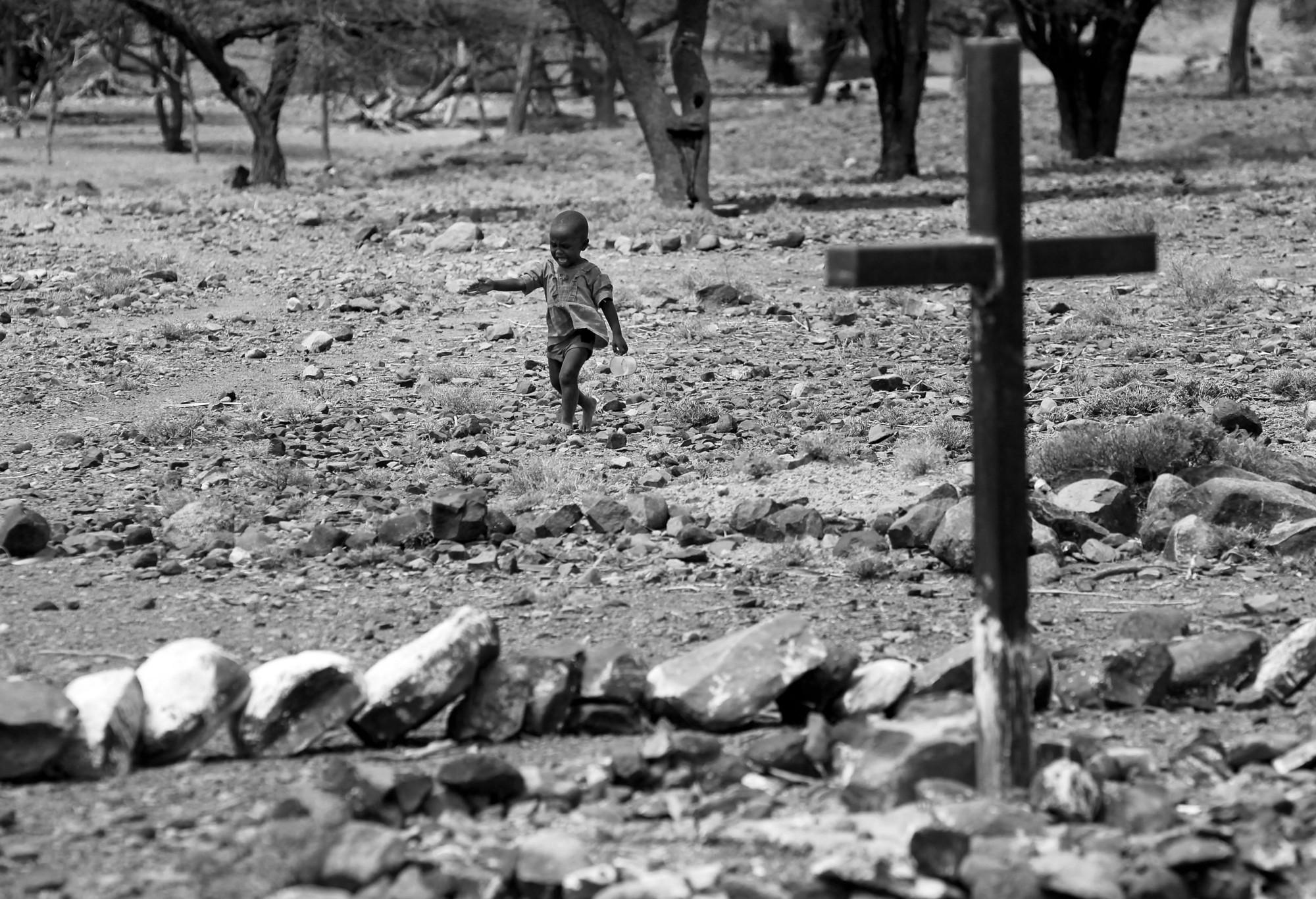 El pueblo Turkana en Kenia es de los grupos humanos más afectados por el calentamiento global