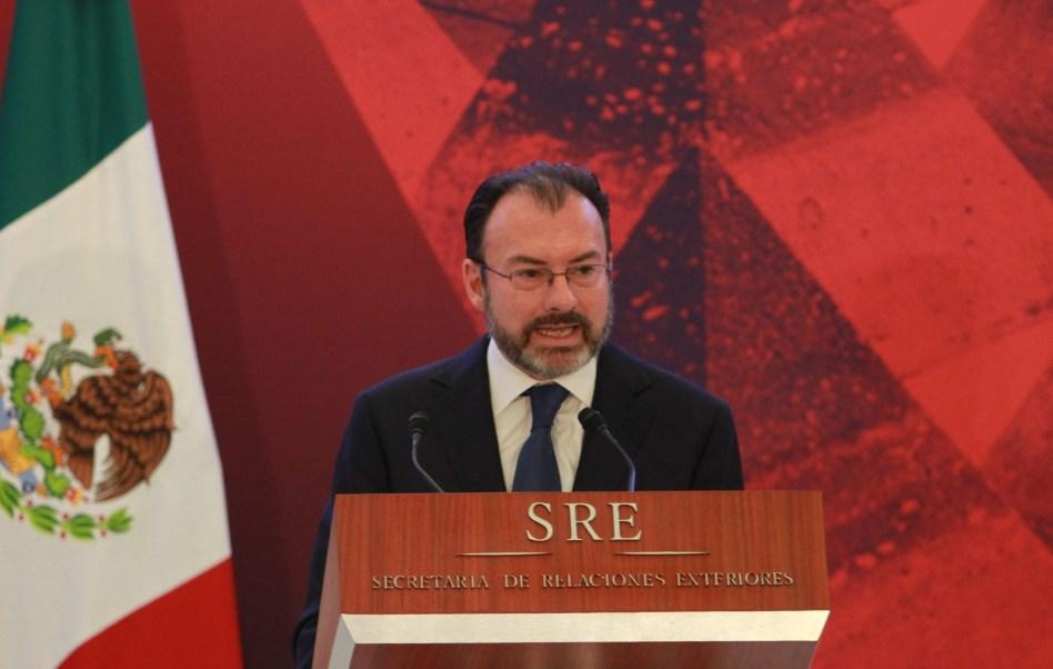 Luis Videgaray Caso, secretario de Relaciones Exteriores (Notimex)