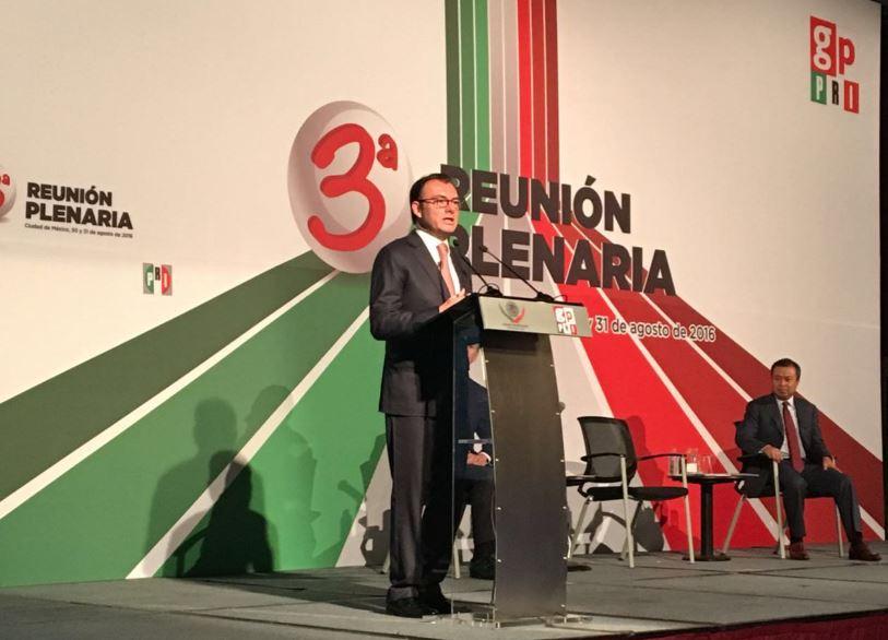 Luis Videgaray dijo que México buscará acuerdos comerciales con todos los países, especialmente con Japón y China (Twitter/@LVidegaray)