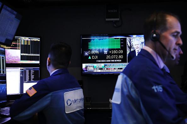 El mercado bursátil de Estados Unidos abrió la sesión con la mira puesta en los resultados corporativos (Getty Images)