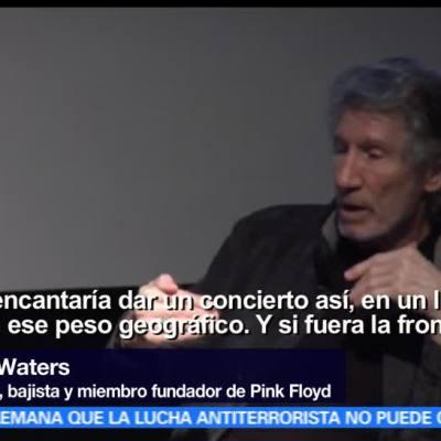 Roger Waters contra el muro de Trump