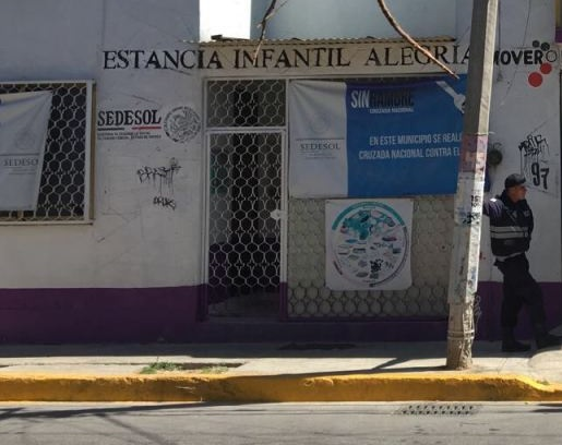 Autoridades en el Estado de México vigilan la estancia infantil 'Alegría'; un niño muere en el inmueble tras caer a una cisterna