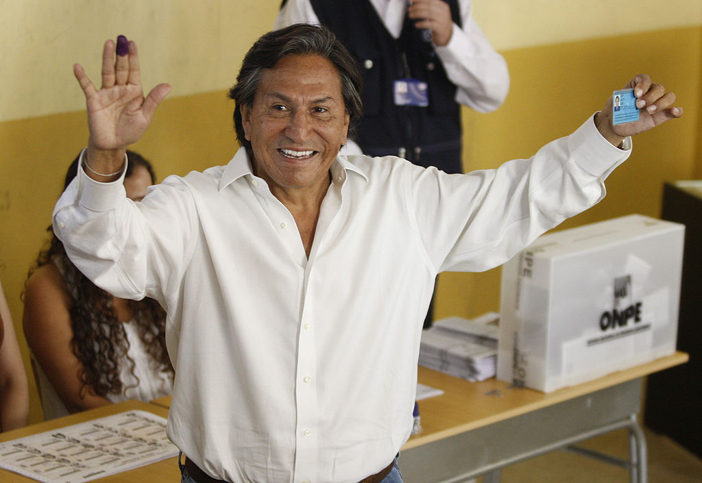 Alejandro Toledo, expresidente de Perú (2001-20016).