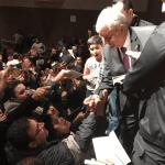 Andrés Manuel López Obrador confió en que Donald Trump no podrá con la bondad y la solidaridad del mismo pueblo de Estados Unidos. (lopezobrador.org.mx)
