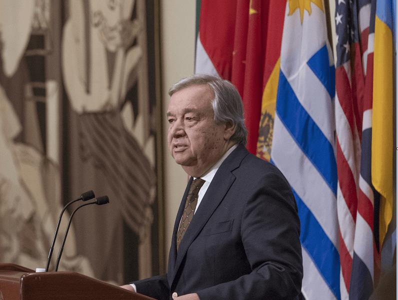 Antonio Guterres, secretario general de la ONU, condena medidas migratorias impuestas por Trump. (AP)