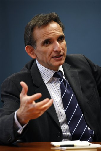 Carlos Pascual, embajador de México en EU de 2009 a 2011. (AP, archivo)
