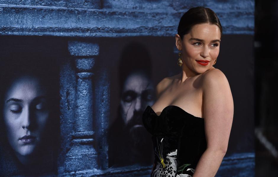 Emilia Clarke dice adiós a Game of Thrones