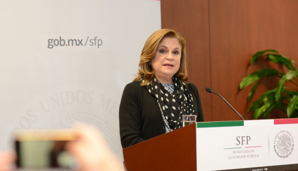 La secretaria de la Función Pública, Arely Gómez, informó que la actualización y mejora del sistema Compranet implica la publicación de información en formatos abiertos de proyectos tan importantes como el Nuevo Aeropuerto Internacional de la CDMX.