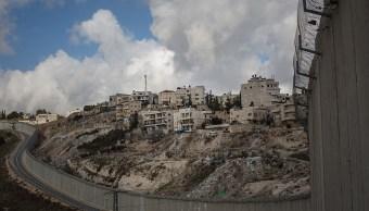 Asentamiento israelí en suelo palestino.