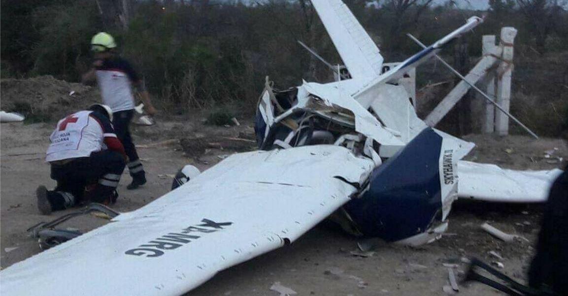 Una falla en el motor es la presunta causa del accidente. (Noticieros Televisa)