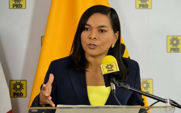 Beatriz Mojica, secretaria general del PRD.