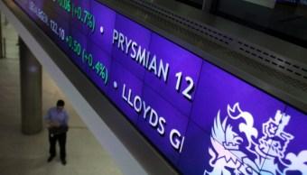 Incertidumbre política mandó a terreno negativo la Bolsa de Londres (Getty Images)