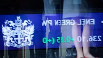 Pizarra de la Bolsa de Londres (Getty Images)
