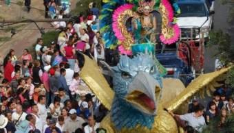 Los carnavales se realizan en colonias, barrios y pueblos de la delegación Iztapalapa a partir de este 24 de febrero. (@Del_Iztapalapa)