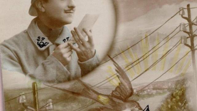 Transcribathon es un sitio donde se han digitalizado cartas de parejas, maridos, esposas y amantes de Europa durante la Primera Guerra Mundial (Foto transcribathon.com)