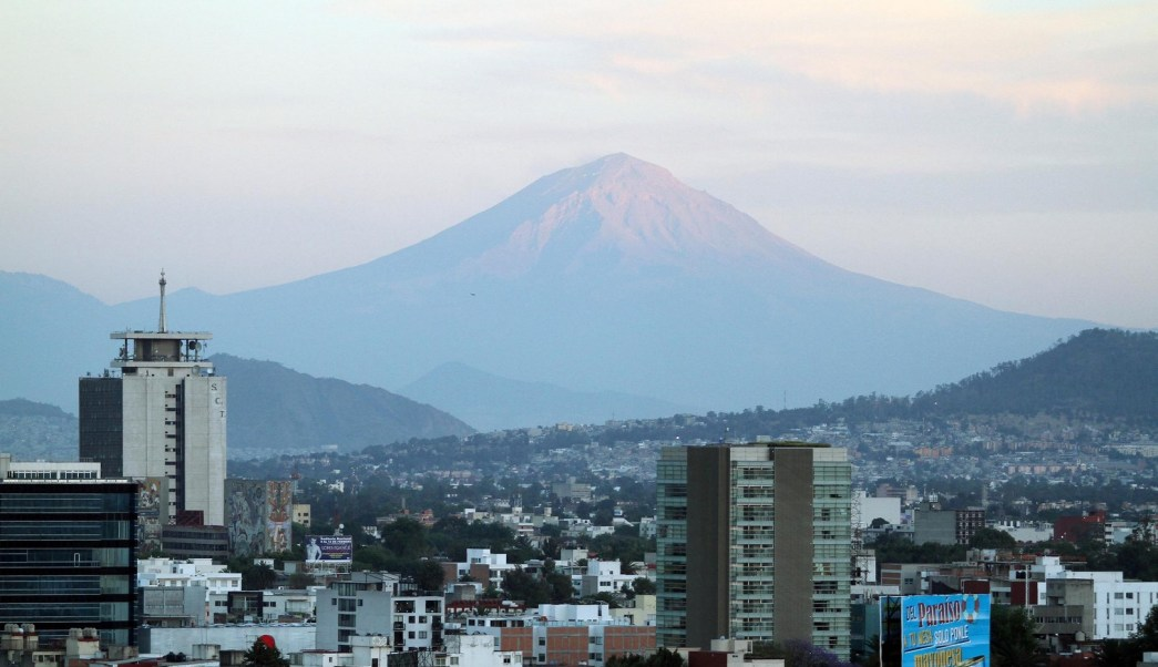 Panorámica del Valle de México; prevén una temperatura máxima de 28 grados centígrados. (Notimex)