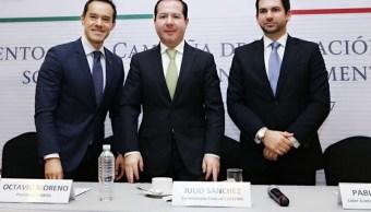 El titular de la Cofepris, Julio Sánchez y Tépoz, asistió al lanzamiento de la Campaña de Educación y Divulgación sobre los Suplementos Alimenticios.