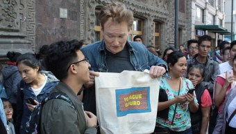 Conan O'Brien en México (Getty Images)