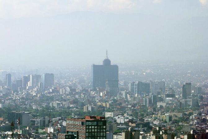 En la Ciudad de México, las delegaciones Azcapotzalco y Venustiano Carranza superan la norma de los 100 puntos (Notimex/Archivo)