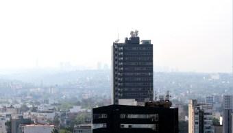 Panorámica de la Ciudad de México; prevén una temperatura máxima de 22 grados centígrados. (Archivo/Notimex)