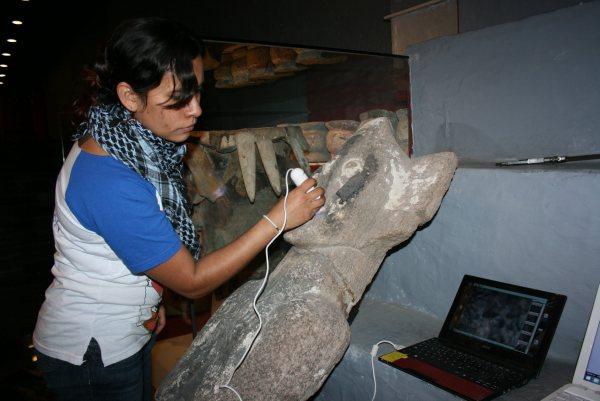 A partir del análisis de la policromía en escultura de Coyolxauhqui se reveló la identidad de nueve tallas; deidades del pulque y la lluvia son revelados