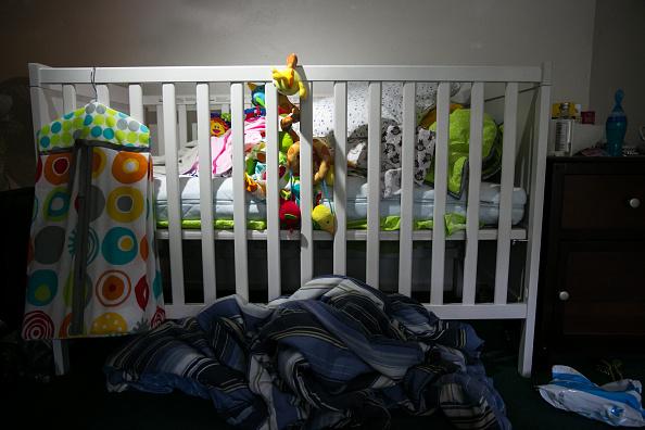 Cuna de bebé; las autoridades de la Procuraduría capitalina investigan la muerte de un menor que estaba bajo el cuidado de una guardería, ubicada en Coyoacán