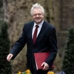 El secretario británico para la salida de la Unión Europea, David Davis (Getty Images)