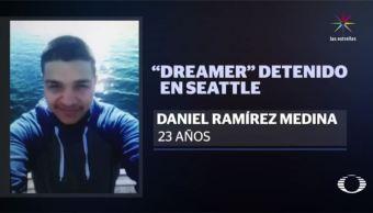 El joven está acusado de pertenecer a una pandilla. (Noticieros Televisa)