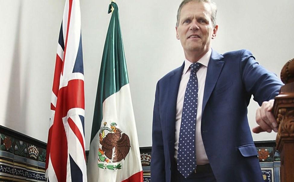 Duncan Taylor, embajador de Reino Unido en México.