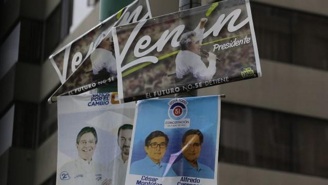 Un total de 12 millones 816 mil 698 electores están habilitados para ejercer su voto este domingo en Ecuador para elegir al sucesor de Rafael Correa (AP)Un total de 12 millones 816 mil 698 electores están habilitados para ejercer su voto este domingo en Ecuador para elegir al sucesor de Rafael Correa (AP)