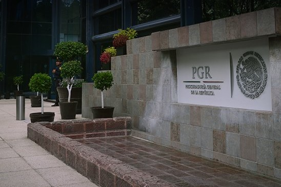 Edificio de la PGR en la CDMX.