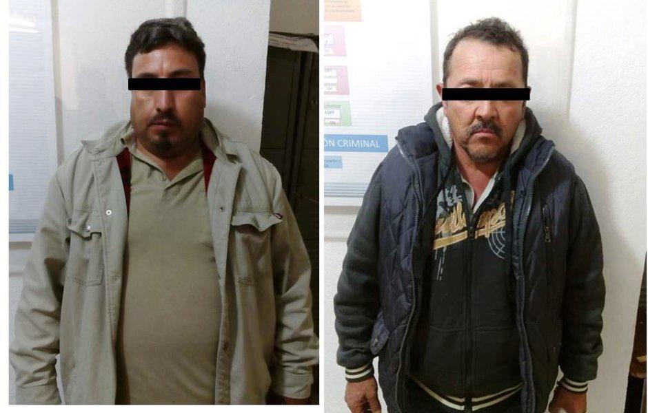 Detienen a dos personas por transportar 79 kilos de droga tipo cristal en Galeana, NL (Twitter @_LASNOTICIASMTY)
