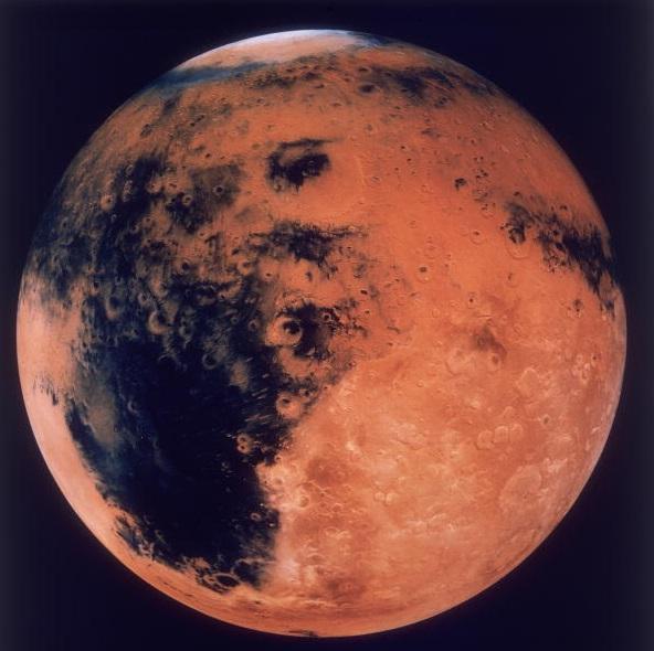 El hallazgo muestra que posiblemente la actividad volcánica más antigua del sistema solar se produjo en Marte.